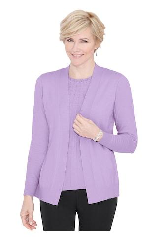 Classic Pullover in raffinierter 2 - in - 1 - Optik kaufen
