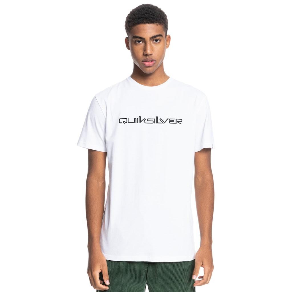 Quiksilver T-Shirt »Omni Font«