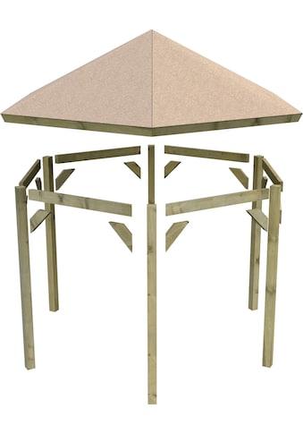 Karibu Holzpavillon »Madrid«, BxT: 349x302 cm kaufen
