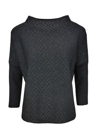 bianca 3/4 Arm-Pullover »OLINE«, in moderner, kastiger Form mit Glitzereffekt kaufen