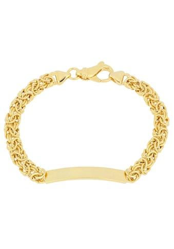 Firetti Armband »ID-Armband Gravur-Artikel, glänzend, vergoldet, halbmassiv« kaufen