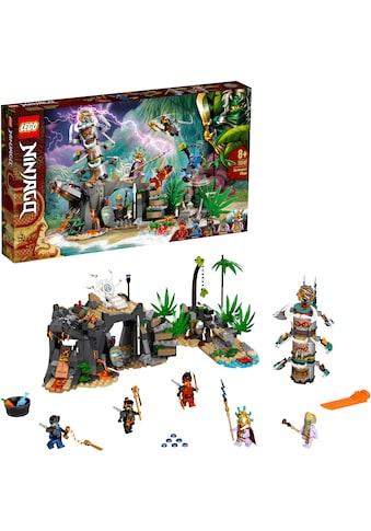 LEGO® Konstruktionsspielsteine »Das Dorf der Wächter (71747), LEGO® NINJAGO®«, (632... kaufen