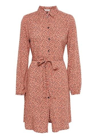b.young Hemdblusenkleid »b.young Hemdblusenkleid mit Allover Print«, Freizeitkleid mit print kaufen
