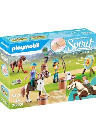 """Playmobil® Konstruktions - Spielset """"Abenteuer im Freien (70331), Spirit Riding Free"""", Kunststoff kaufen"""