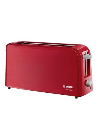 BOSCH Toaster »CompactClass TAT3A004«, 1 langer Schlitz, 980 W kaufen