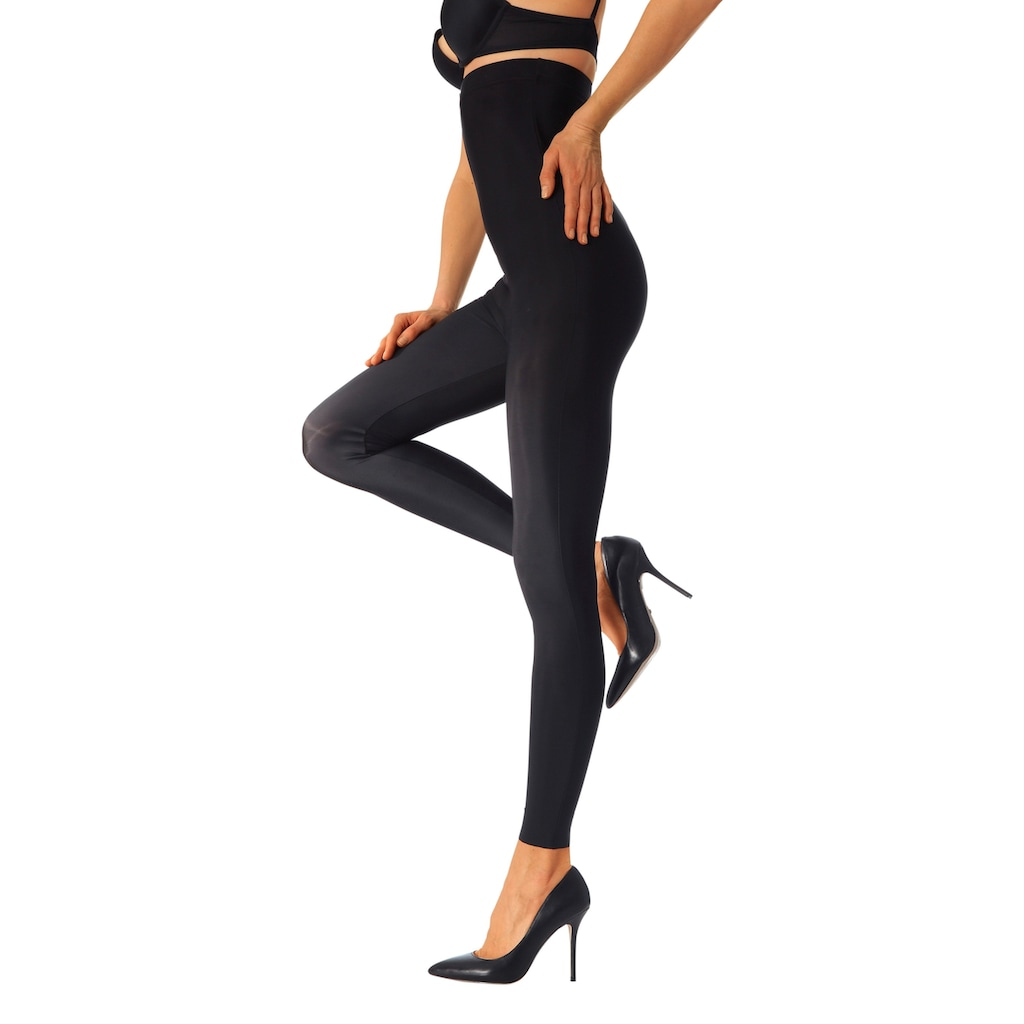 LASCANA Highwaist Leggings, mit leichtem Shaping Effekt