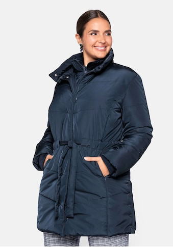 Sheego Steppjacke, in Longform kaufen