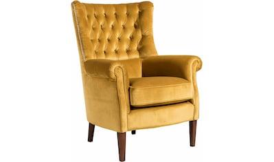 Max Winzer® Chesterfield - Sessel »William« kaufen