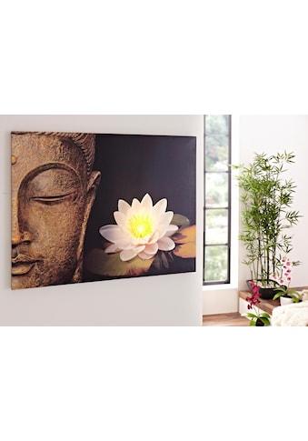 Home affaire LED - Bild »Buddha« kaufen