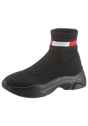 TOMMY JEANS Schlupfboots »TOMMY JEANS FLAT SOCK BOOT« kaufen