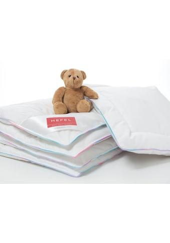 Hefel Kinderbettdecke »Soft Down, mit Regenbogenbiese«, normal, (1 St.) kaufen