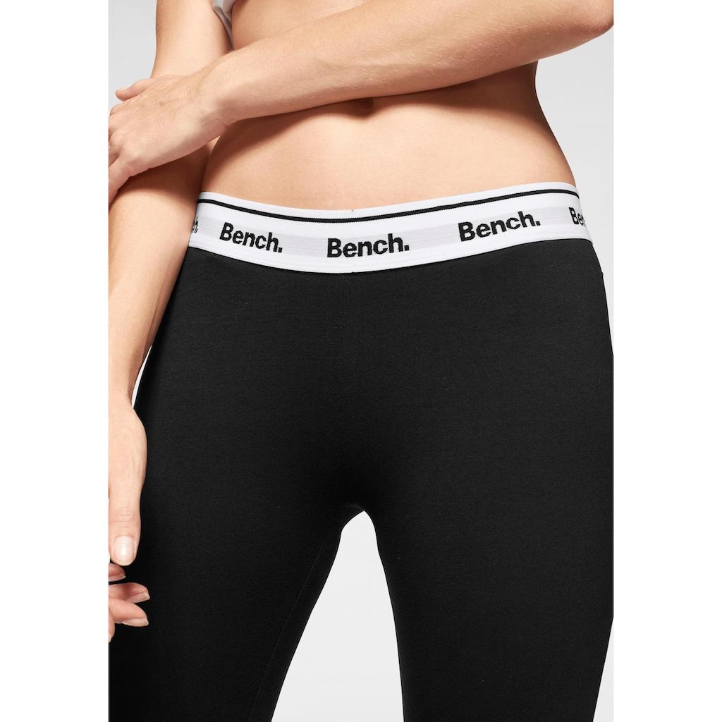 Bench. Leggings, mit bedrucktem Wäschegummi