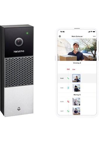 Netatmo Video-Türsprechanlage »Smarte Videotürklingel«, Außenbereich kaufen