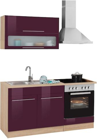 HELD MÖBEL Küchenzeile »Eton«, ohne E-Geräte, Breite 160 cm kaufen