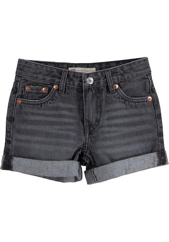 Levi's Kidswear Jeansshorts, in Girlfriend-Form kaufen