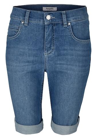ANGELS Jeans ,Bermuda TU' im Used - Look kaufen