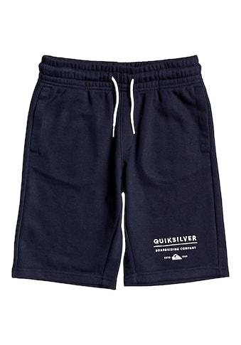 Quiksilver Sweatshorts »Easy Day« kaufen