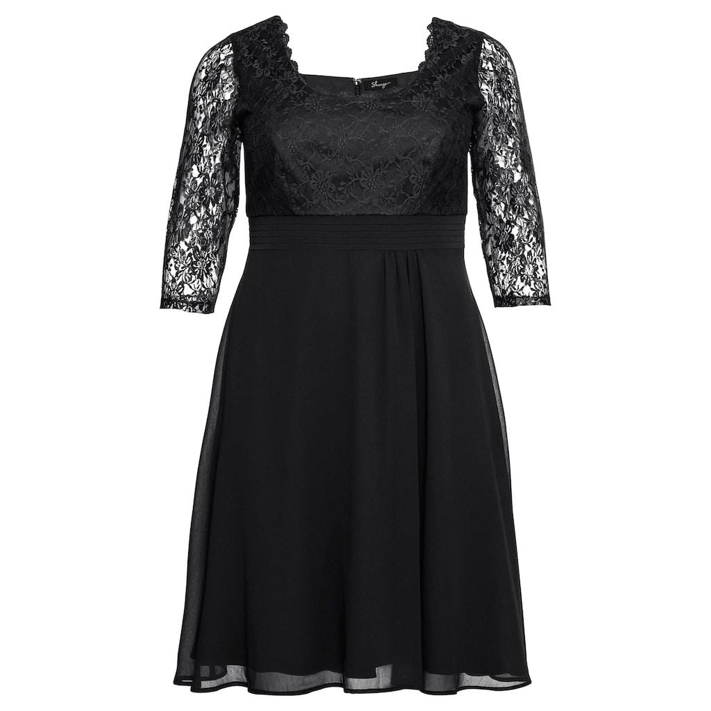 Sheego Abendkleid, mit leicht ausgestelltem Rock