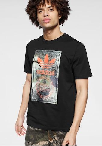 adidas Originals T - Shirt »CAMO TONGUE TEE« kaufen