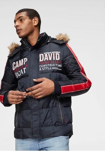 CAMP DAVID Steppjacke, mit vielen Details kaufen