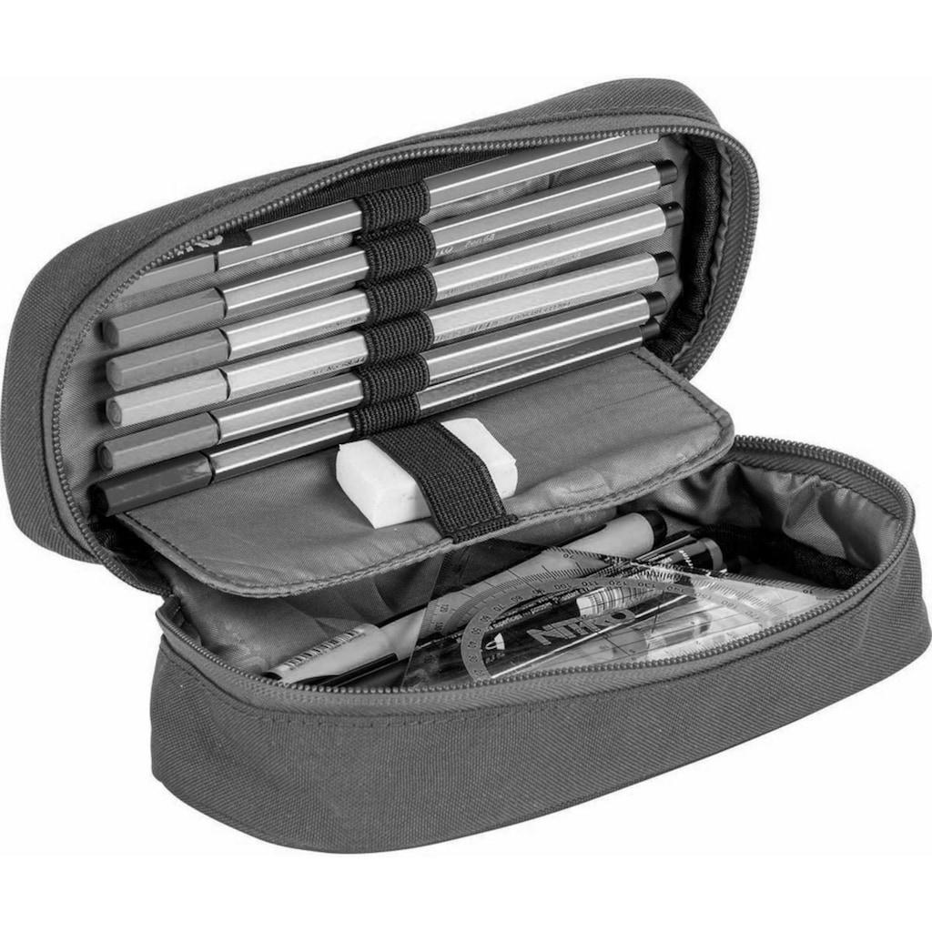 NITRO Federtasche »Pencil Case XL, Geo Green«