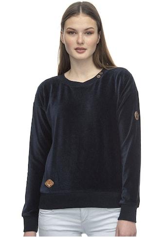 Ragwear Sweater »MAIKEN«, in glänzender Samt-Optik kaufen