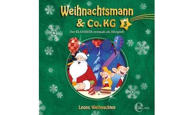 Musik-CD »(3)Original Hörspiel z.TV-Leons Weihnachten / Weihnachtsmann & Co.KG« kaufen