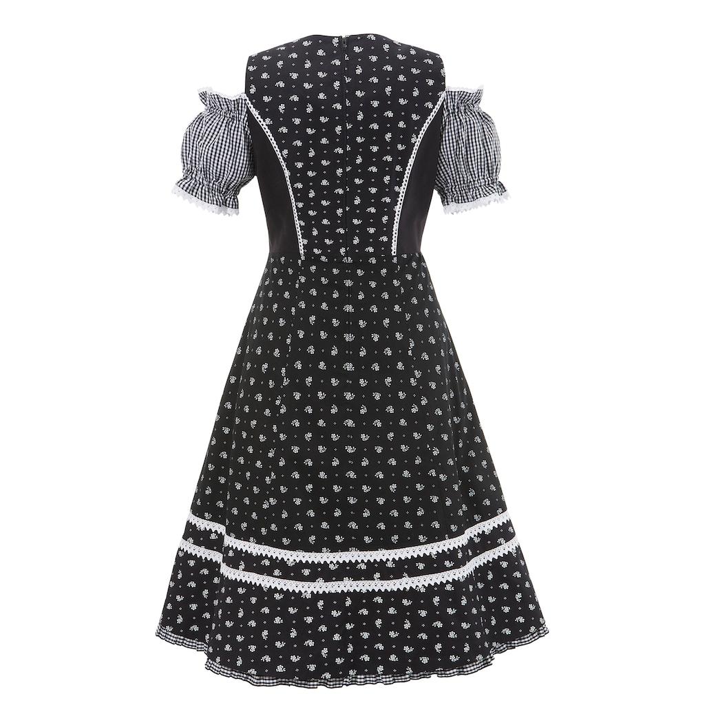Naber Collection Trachtenkleid, mit Puffärmel