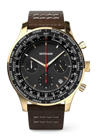 DETOMASO Chronograph »FIRENZE CHRONOGRAPH BLACK GOLD« kaufen