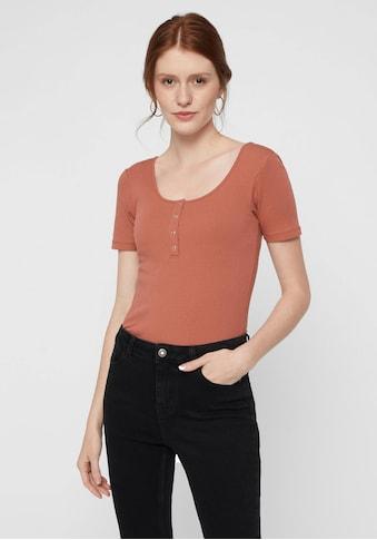 pieces Rundhalsshirt »PCKITTE« kaufen