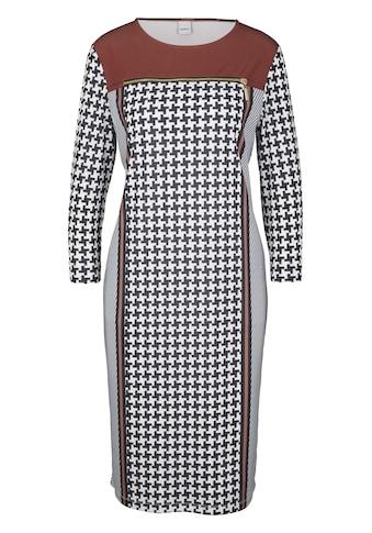 Jerseykleid mit Zier - Reißverschluss kaufen