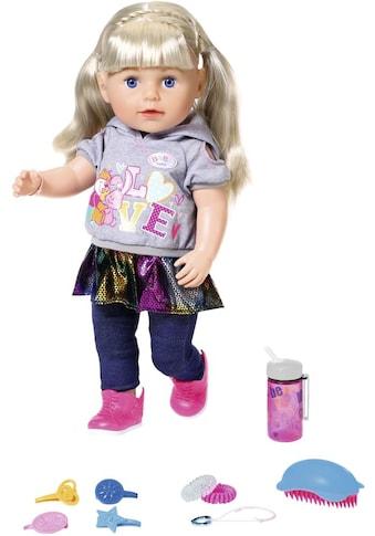 "Baby Born Babypuppe ""Soft Touch Sister 43 cm, blond"" kaufen"