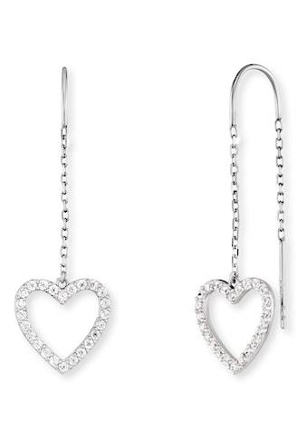 Engelsrufer Paar Ohrhänger »Love, ERE-LOVE-ZI«, mit Zirkonia (synth.) kaufen
