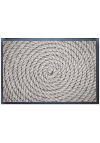 Andiamo Fußmatte »Schlaufe«, rechteckig, 5 mm Höhe, Schmutzfangmatte, In- und Outdoor... kaufen