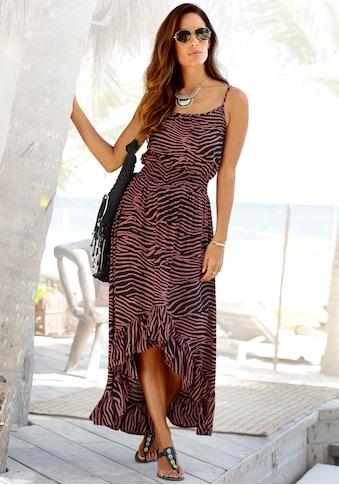 LASCANA Maxikleid, mit Zebradruck kaufen