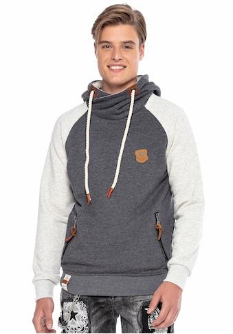 Cipo & Baxx Kapuzensweatshirt, mit markanten Details kaufen