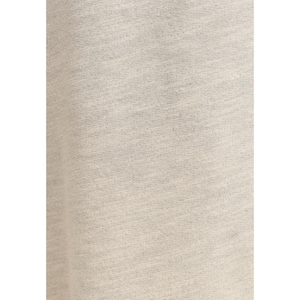 OXXO Outdoorhose, mit Bindedetail und umgeschlagenem Bund