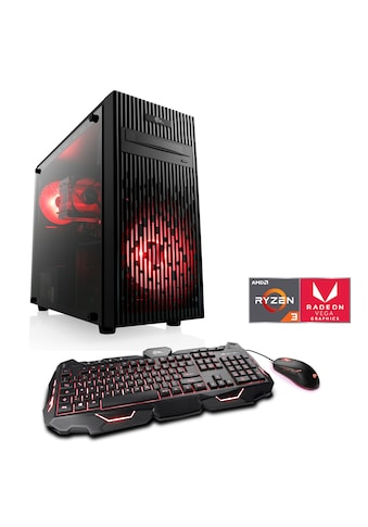 CSL »Levitas T8186 Windows 10 Home« Gaming - PC (AMD, Ryzen 3, Radeon Vega 8) kaufen