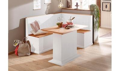 Home affaire Essgruppe »Sara«, bestehend aus Eckbank und Tisch kaufen