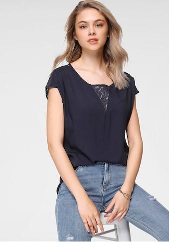 HaILY'S Shirtbluse »AMELY«, mit Spitzendetails kaufen