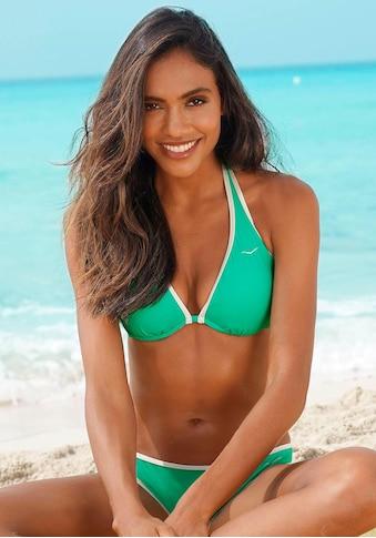 Venice Beach Bügel-Bikini-Top »L.A.«, mit Kontrastpiping kaufen