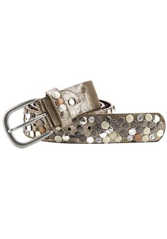 heine Nietengürtel, mit Metallnieten kaufen