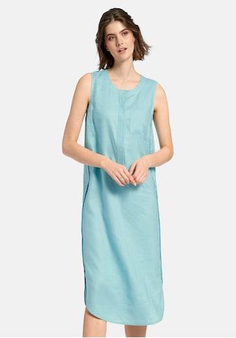 Peter Hahn Abendkleid »Ärmelloses Kleid aus 100% Leinen«, mit Ziernähten kaufen
