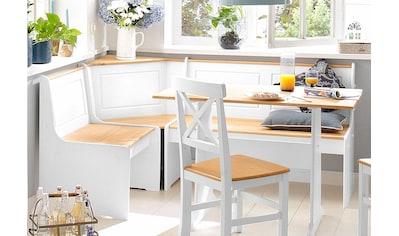 Home affaire Essgruppe »Sascha«, mit Tisch und Truhen-Eckbank kaufen