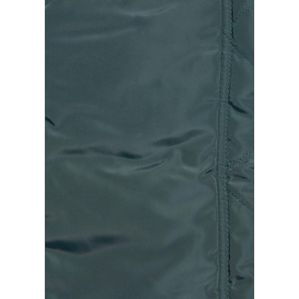 ALPENBLITZ Parka »Wintercharme«, mit kuschelig gefütterter Kapuze und abnehmbaren Kunstfell an der Kante