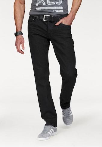 John Devin Straight-Jeans, mit Knopfleiste kaufen