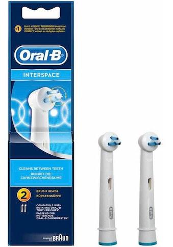 Oral B Aufsteckbürsten »Interspace« kaufen