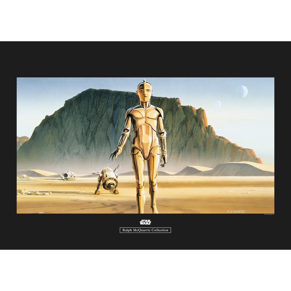 Komar Poster »Star Wars Classic RMQ Droids«, Star Wars