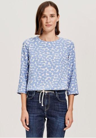 OPUS Druckbluse »Ferusa«, in Shirtform mit Punkten kaufen