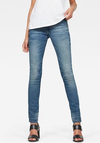 G-Star RAW Skinny-fit-Jeans »Lynn Mid Waist Skinny«, moderne Version des klassischen... kaufen